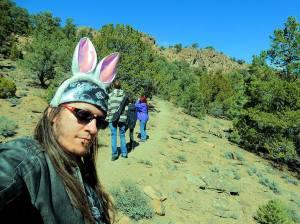 Look it's little Bunny FooFoo. A.K.A Lord Rick Rowe.