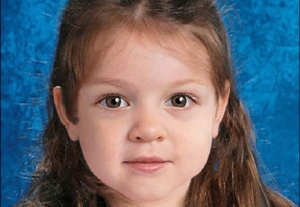 BOSTON (AP) - The father of a 2-year-old girl whose body was found on a Boston-area beach in June says her mother has told him her boyfriend killed the child because he believed she was possessed by demons.