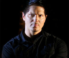 Zak Bagans sets ready for Demon House documentary.