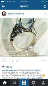 did Anna Hill use national Gofundme site to actually buy her fancy ring?