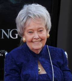 """HOLLYWOOD, CA - JUNE 07: Demonologist Lorraine Warren arrives at the 2016 Los Angeles Film Festival - """"The Conjuring 2"""" Premiere at TCL Chinese Theatre IMAX on June 7, 2016 in Hollywood, California. (Photo by Gregg DeGuire/WireImage)"""