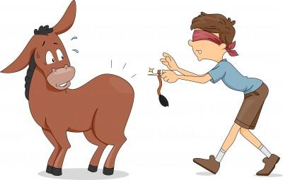 pin-tail-on-donkey